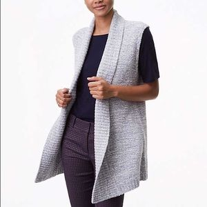LOFT Spacedye Sweater Vest Size medium